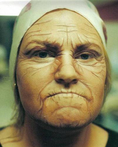 Theater Makeup: Old Age | FX Makeup | Theatre makeup, Old