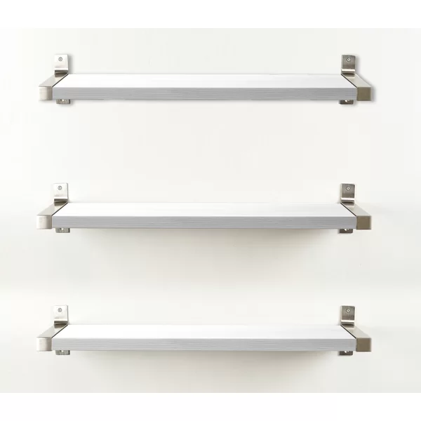 This Product Set Provides You With A Fresh Unique Way To Display Your Decorative Items These Wall Mounted She Wood Wall Shelf White Wall Shelves Wall Shelves