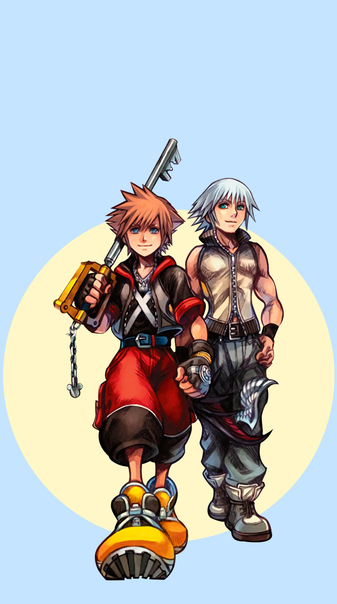 Kingdom Hearts Ray of Hope edition Backgrounds