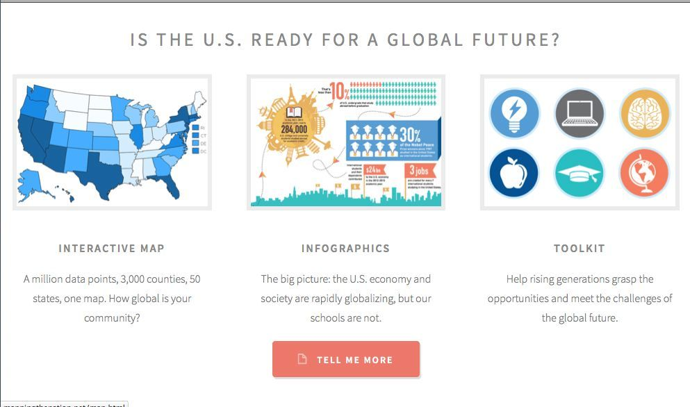 Is the U.S. ready for a global future? Click on the link
