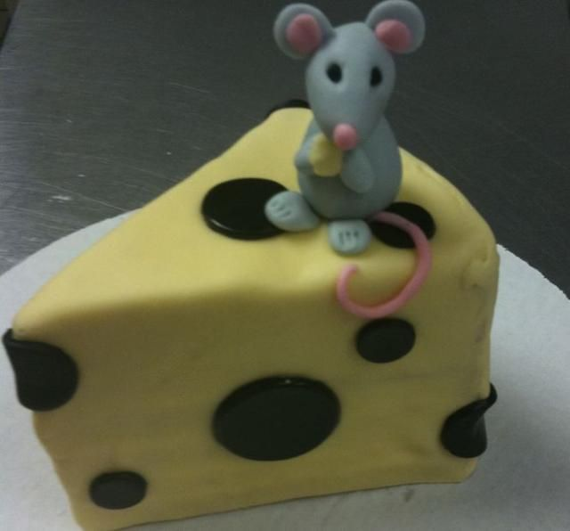Mouse Birthday Cake Mouse And Cheese Birthday Cake Jpg