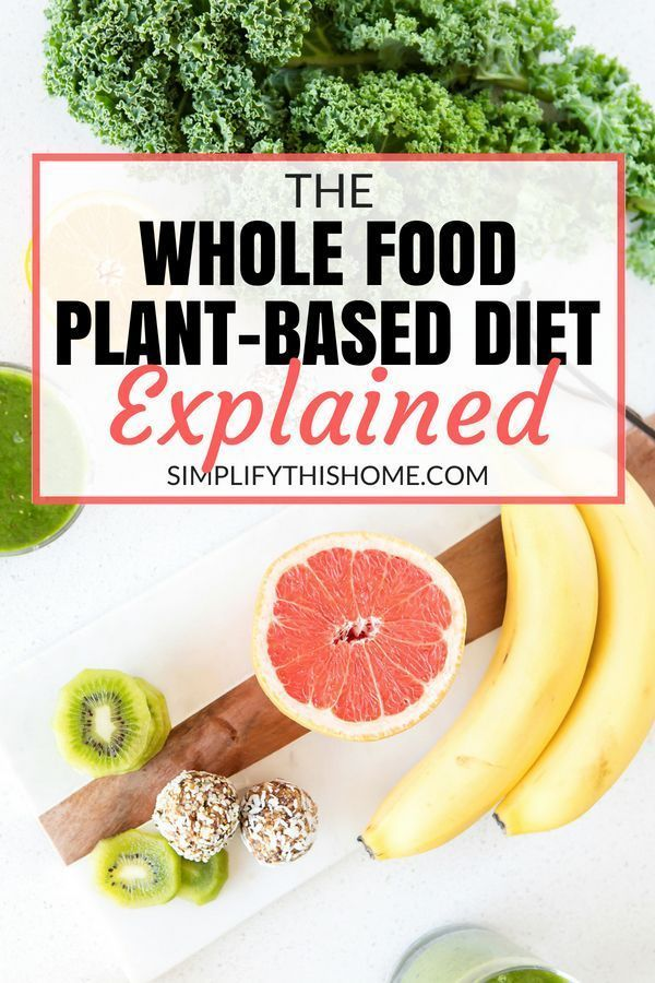 The Whole Food, Plant-Based Diet Explained Simply and Clearly #plantbasedrecipesforbeginners