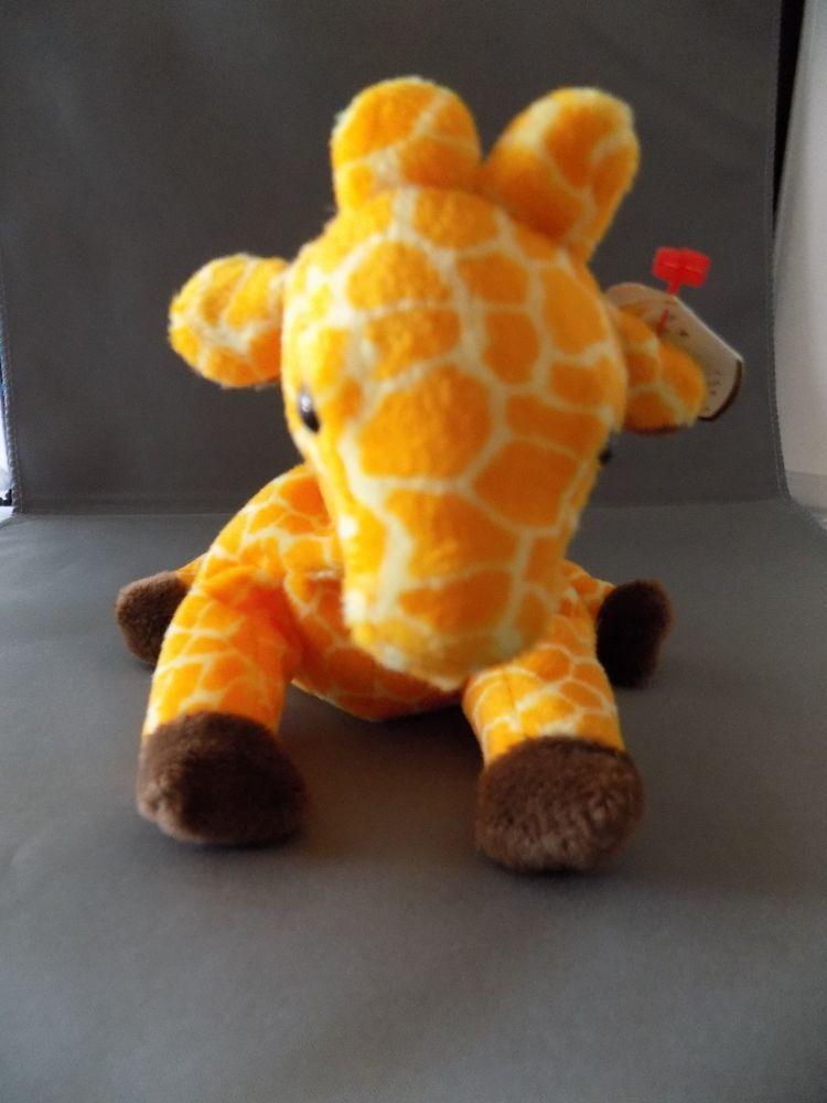 a6f19d8feba Twigs Giraffe TY Original Beanie Baby Style 4068 DOB 5-19-95 PVC Pellets  Ty