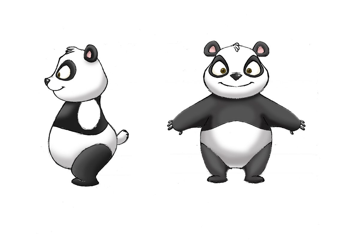 Blender Modeling A Cartoon Character : Panda blender modeling timelapse youtube character