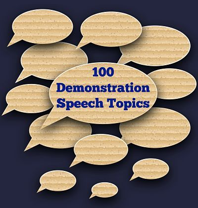 100 Demonstration Speech Topic Ideas Education Pinterest - speech outline