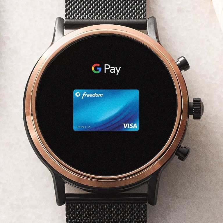 Gen 5 smartwatch the carlyle hr smoke stainless steel