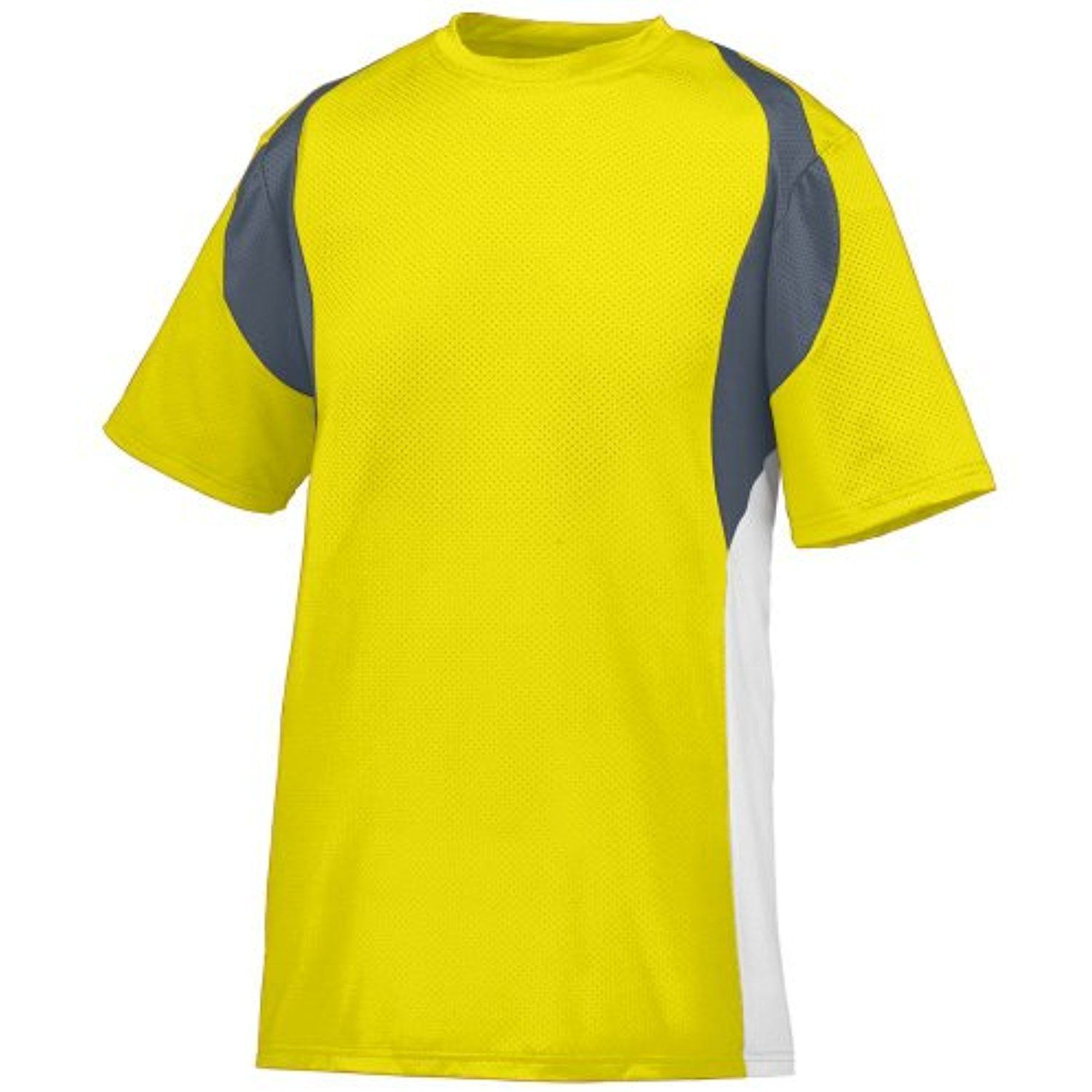 Style 1516 Youth Quasar Jersey (XSMALL, POWER YELLOW