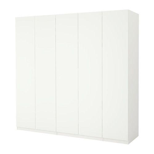 pax wardrobe white ballstad white soft closing hinges. Black Bedroom Furniture Sets. Home Design Ideas