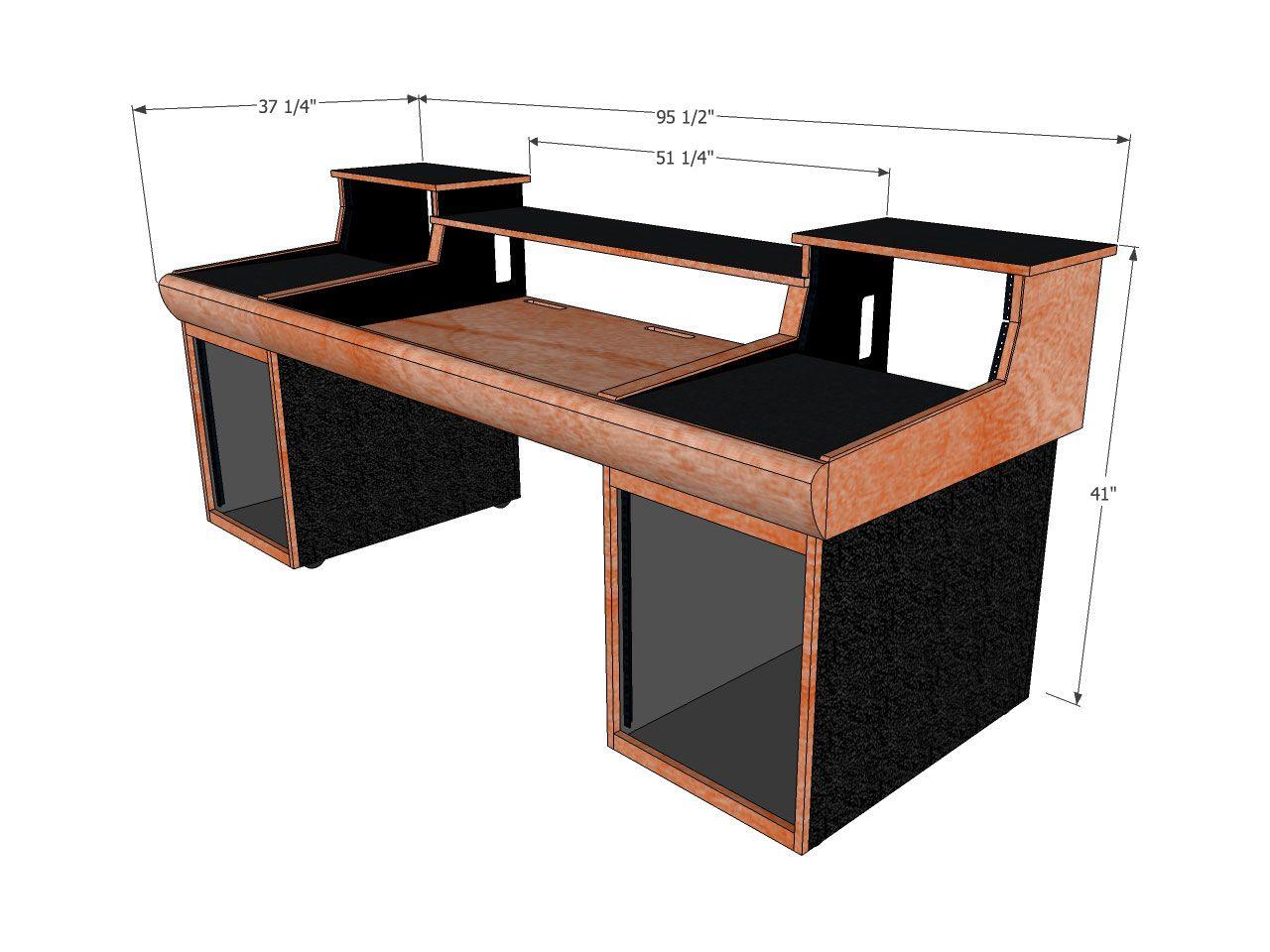 Studio Desk Plans Sketchup Google Search Oak Office Furniture Office Desk Designs Home Studio Desk