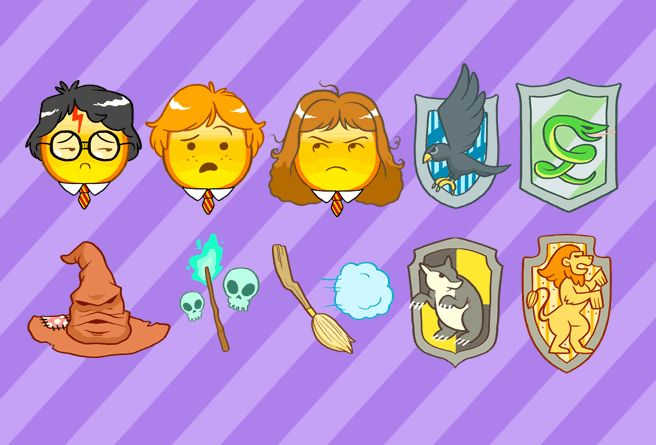 Harry Potter Emojis Are What Your Phone Needs Immediately Harry Potter Texts Harry Potter Drawings Harry Potter Love