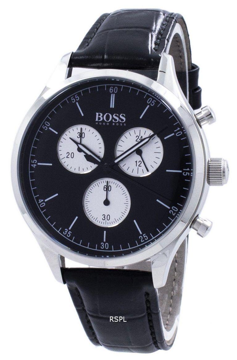Hugo boss companion chronograph quartz 1513543 mens watch