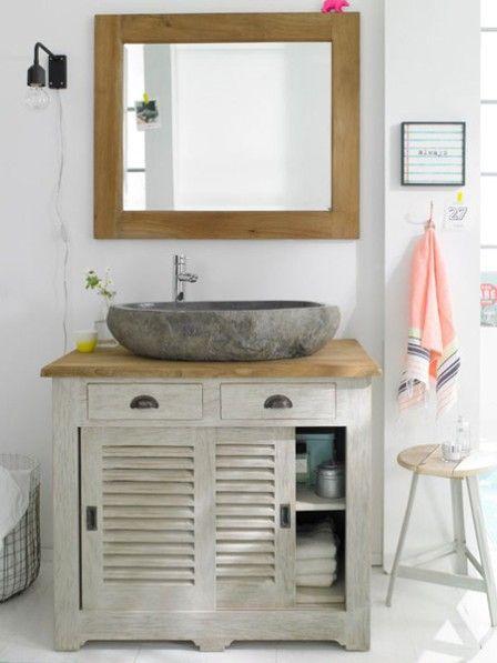 holz wei so wird ihr bad nat rlich wohnlich b der badezimmer und kleinm bel. Black Bedroom Furniture Sets. Home Design Ideas