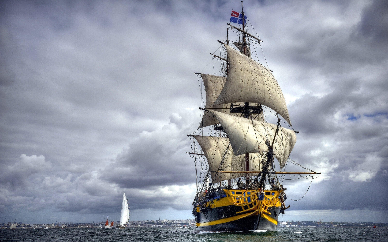 Segelschiffe auf dem meer  Grand Turk frigate | Architecture: Lighthouses & Ships | Pinterest ...