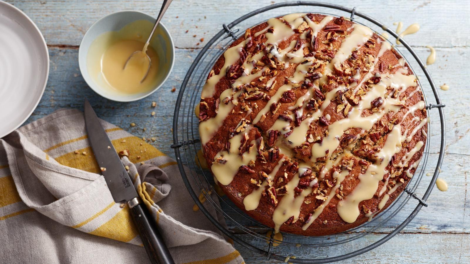 Banana Cake Recipe Recipe In 2020 Banana Cake Recipe Banana Cake Bbc Food