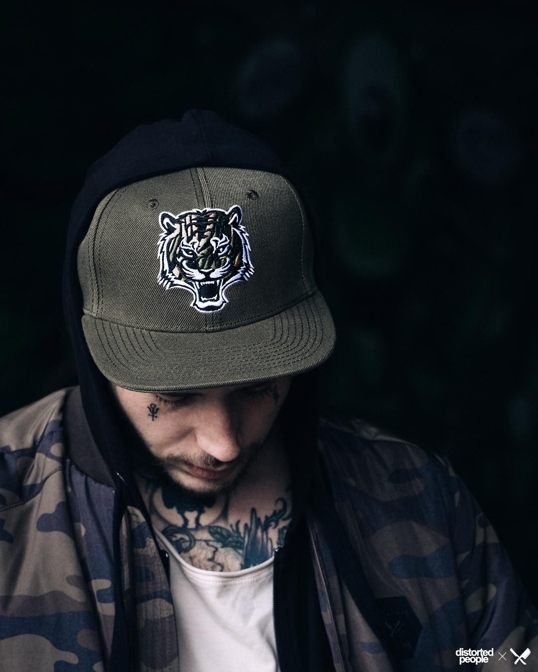 sale retailer be433 c1d74 Army Green Tiger Snapback