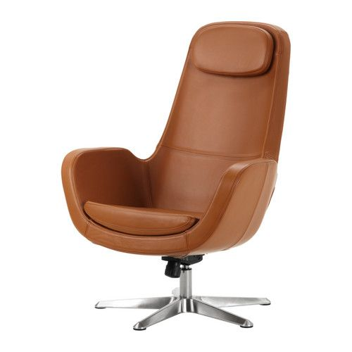 Ikea Us Furniture And Home Furnishings Leather Armchair Ikea Armchair Swivel Chair