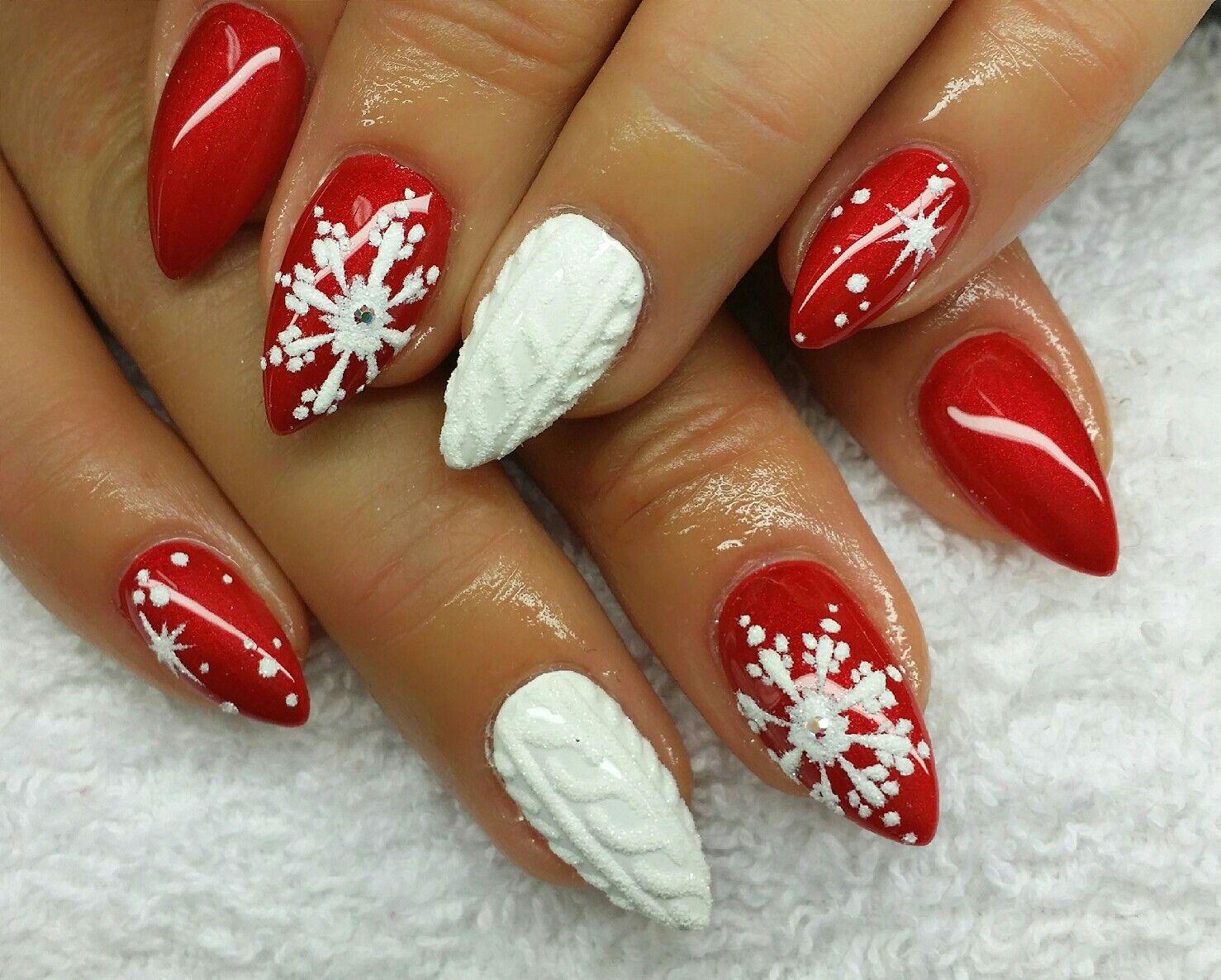 Nail Design Fullcover Winter Christmas | Nails | Pinterest | Winter ...