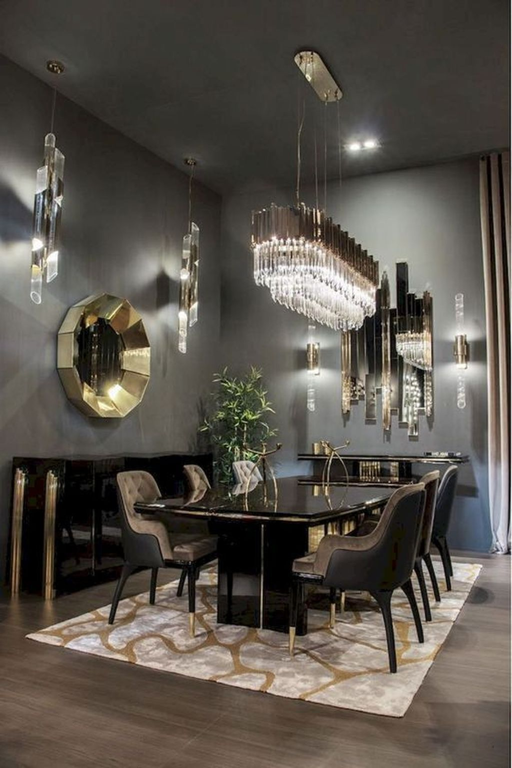 32 Fabulous Contemporary Dining Room Decorating Ideas Homyhomee Contemporary Dining Room Design Luxury Dining Tables Luxury Dining Room