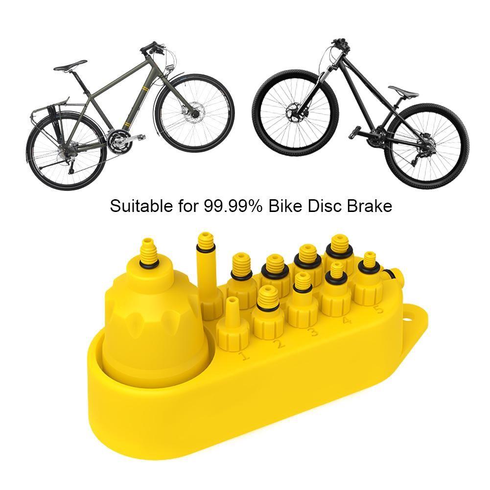 Herchr hydraulic bicycle bike disc brake mineral oil bleed