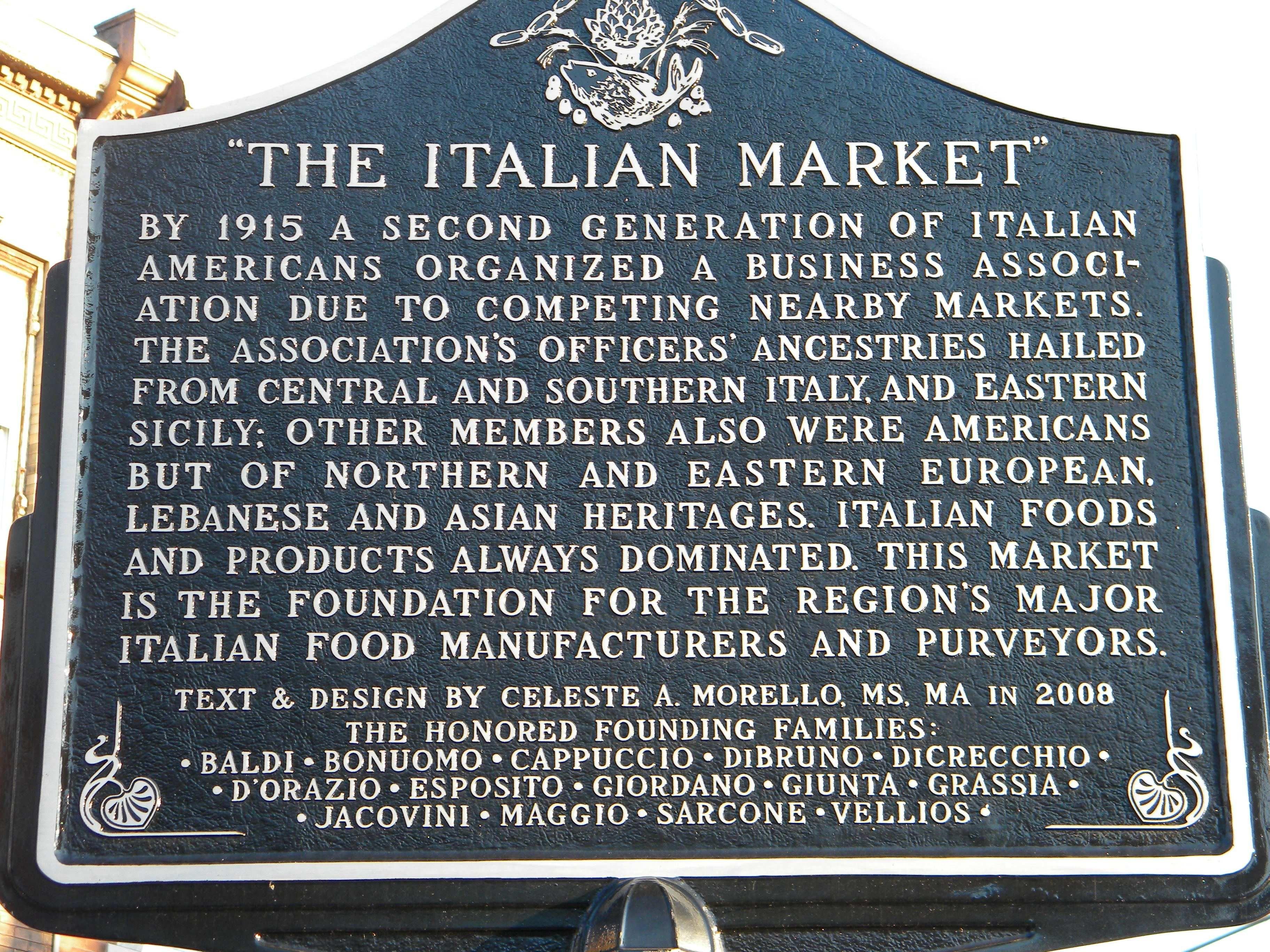 Philadelphia Italian Market Italian Market Philadelphia Italy