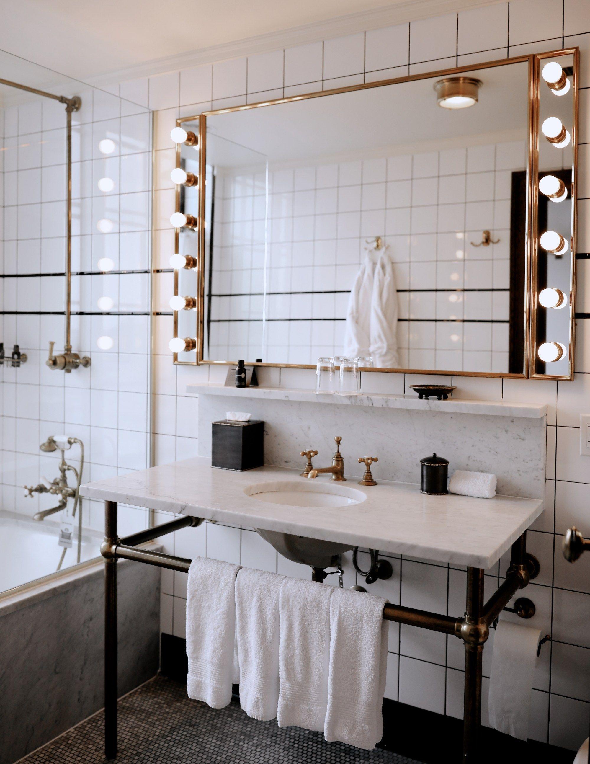 Best Instagram Spots In Nyc Ludlow Hotel Bathroom Interior Design Bathroom Inspiration [ 2588 x 1999 Pixel ]