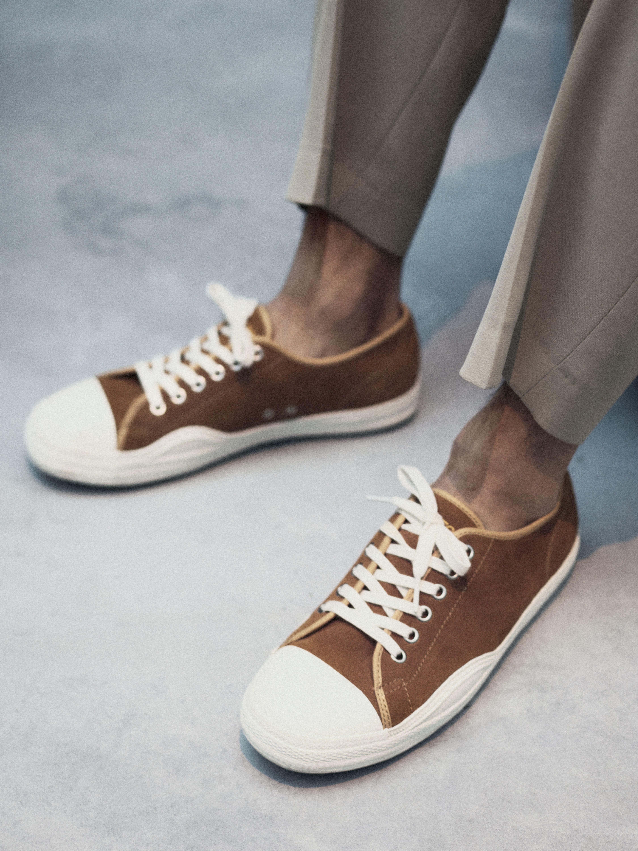 Racket Suede Sneakers from Tretorn