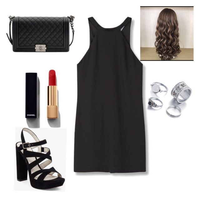 """Untitled #6"" by iulia-culic on Polyvore featuring MANGO, BCBGeneration and Chanel"