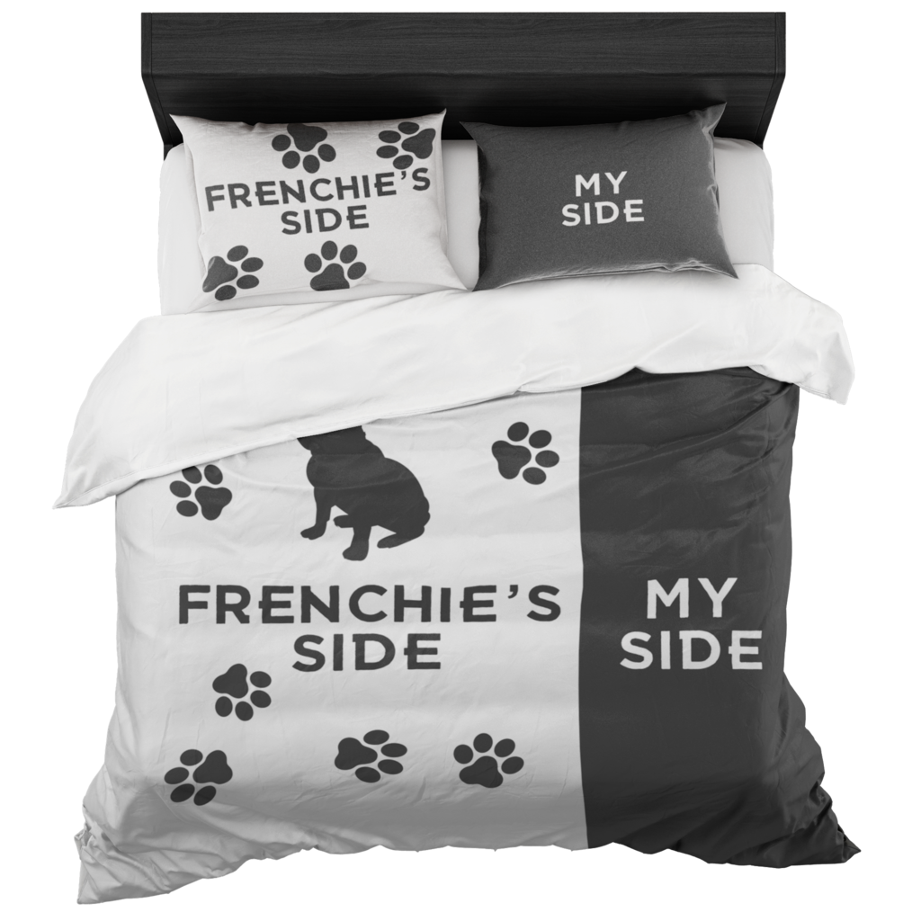 Dog Side My Side Bettwäsche Frenchie S Side Bedding Set French Bulldogs