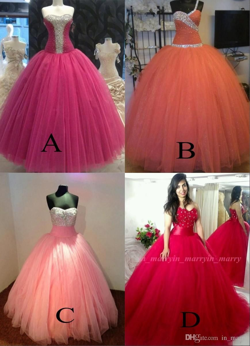 Luxury Mexico Ball Gown Quinceanera Dresses 2017 Crystal ...