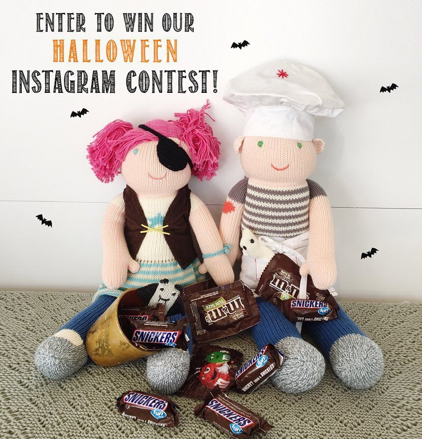 It's time for our #blablahalloween16 Contest! Show us your Blabla Inspired costume for yourself or dress up your favorite Blabla doll! We are giving away 3 $50 Gift Certificates! More Details on the Blog! Link In Profile