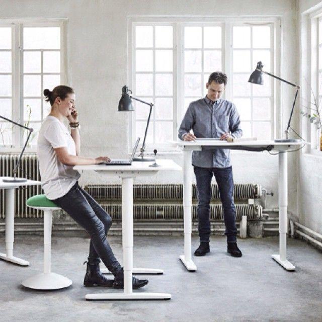 Ikea Canada On Instagram Prolonged Sitting Can Be Harmful To Your Health Our Bekant Desks Off Ikea Standing Desk Ergonomic Office Furniture Ikea Bekant Desk