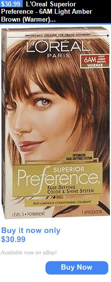 Hair Color Loreal Superior Preference 6am Light Amber Brown Warmer 1 Each Pack Of 4 Buy It Now Only 30 9 Light Hair Color Trendy Hair Color Hair Color