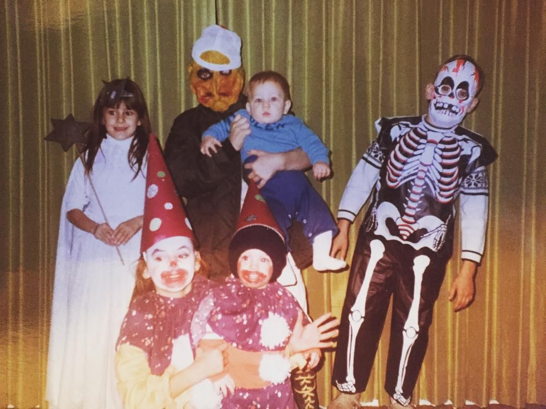 Found an old family Halloween photo! #tbt #zahariasfamily #zahariasrestsurant #staugustine #staugustinebeach by zahariasrestaurant