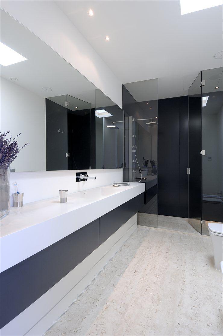 Wohndesign interieur badezimmer house in pozuelo pozuelo de alarcón  b a t h r o o m  design