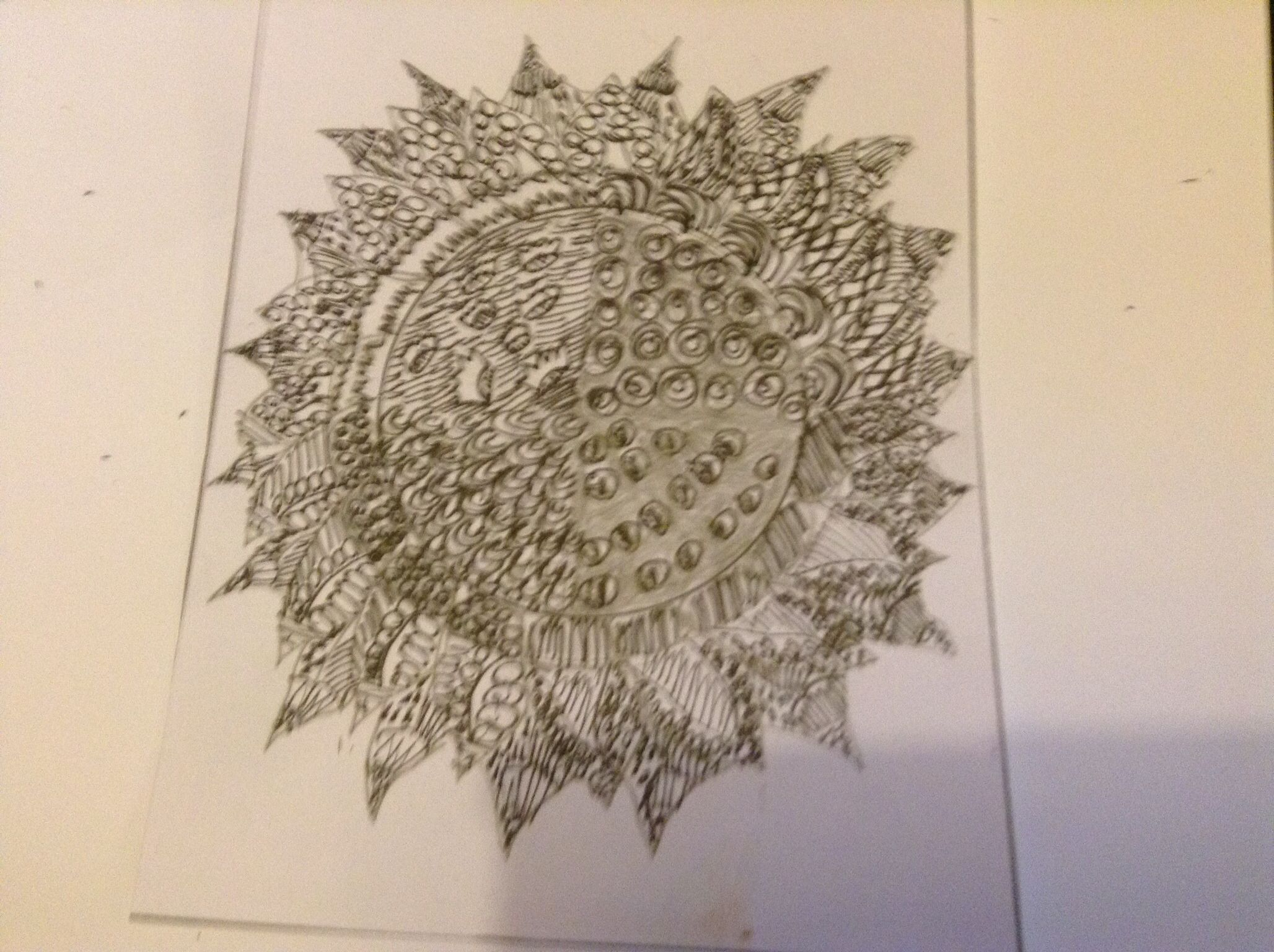 Zentangle trying