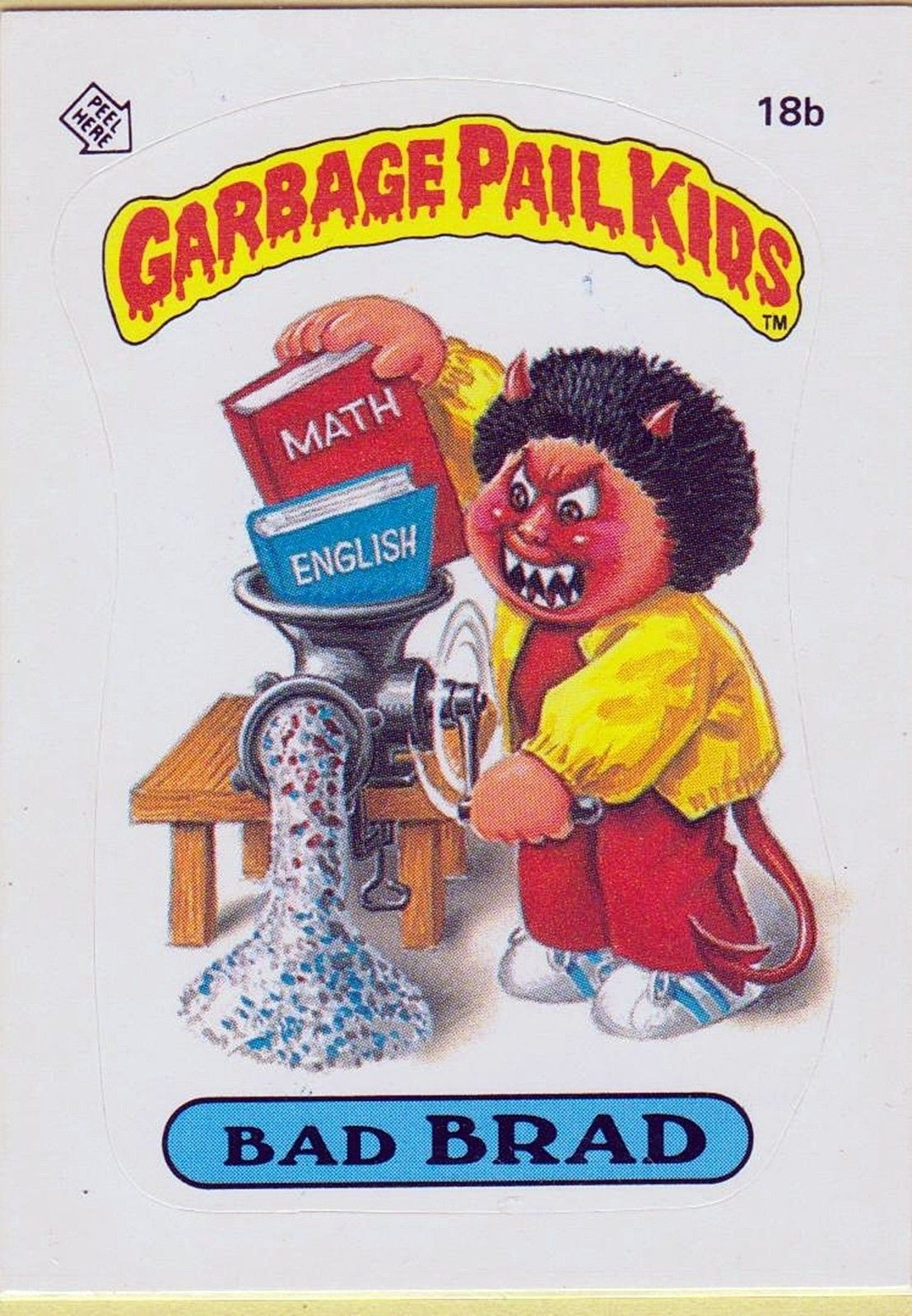 Wayne's Garbage Pail Kids References