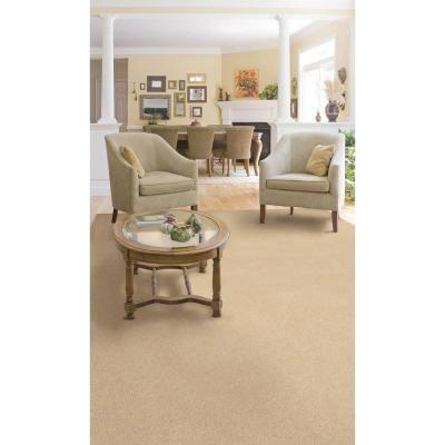natco plush natural 8 ft x 12 ft bound carpet at