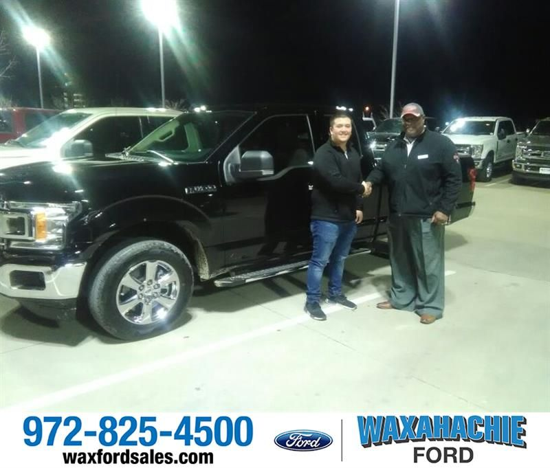 to Ian and your 2018 from Royce Carpenter at Waxahachie Ford!
