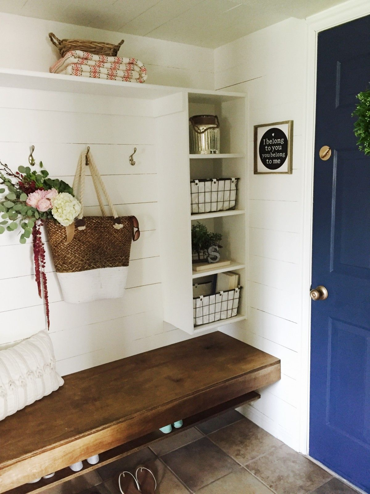 How To Turn That Hallway Closet Into A Beautiful