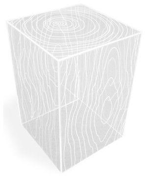 Modern Acrylic Cube Side Table Modern Side Tables And Accent Tables - Acrylic cube side table