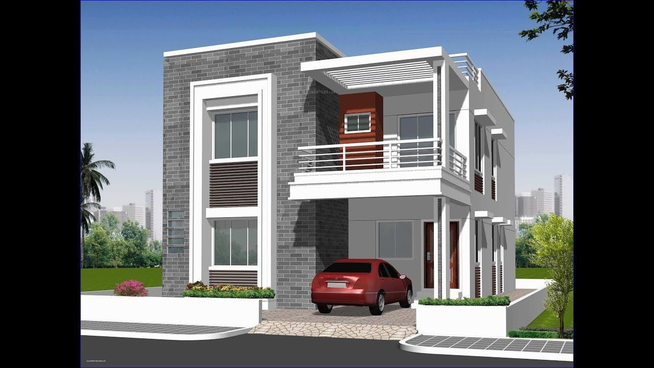 Duplex House Elevation Designs 2020 | Elevation Designs ...