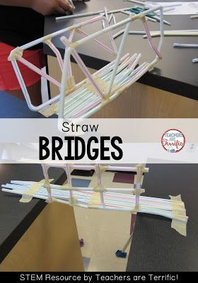 straw bridge lesson plan Triangles: designing a straw bridge – based on a pbs show called  design a  bridge – a lesson plan to create a bridge that can hold coins.