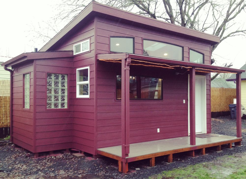 Tiny Houses And Guest Homes In Eugene Oregon Tiny House