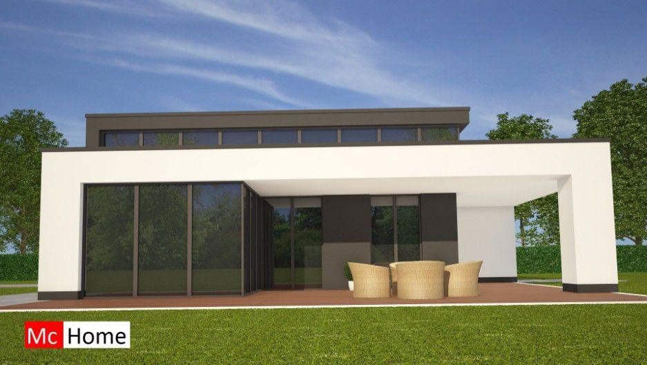 Moderne Bungalows mc home nl b 84 moderne bungalow onder architectuur prefab bouwen in