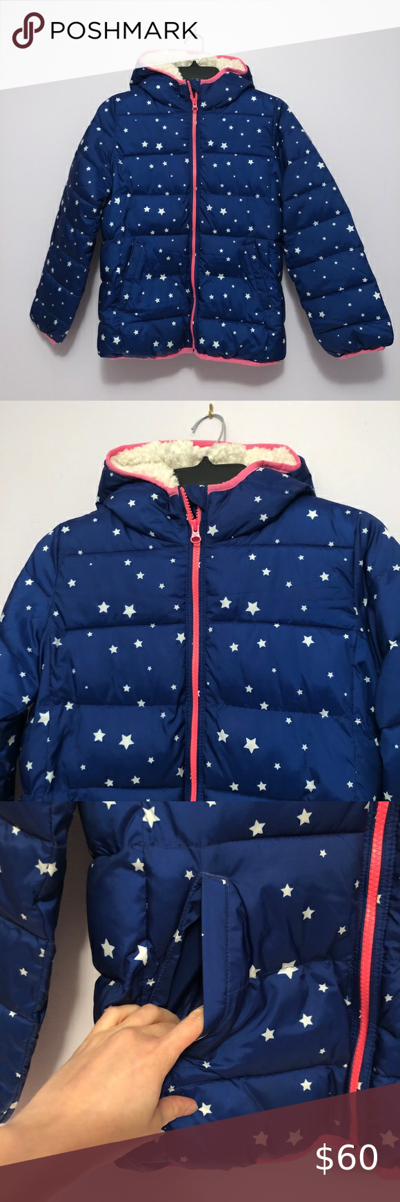red and blue starry and spotty slippers Children/'s fleece lined
