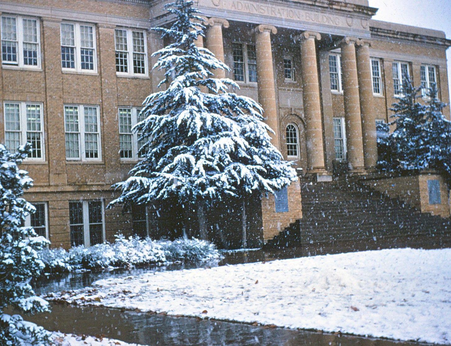 Acc Snow 1959 Abilene Now Called Acu Abilene Christian Wild Cats Abilene