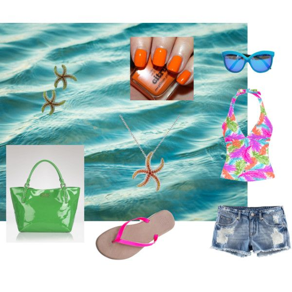 summer days, created by motherofanangel on Polyvore