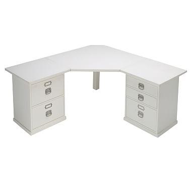 Bedford Corner Desk With Drawers White Corner Desk Corner Desk Desk Furniture