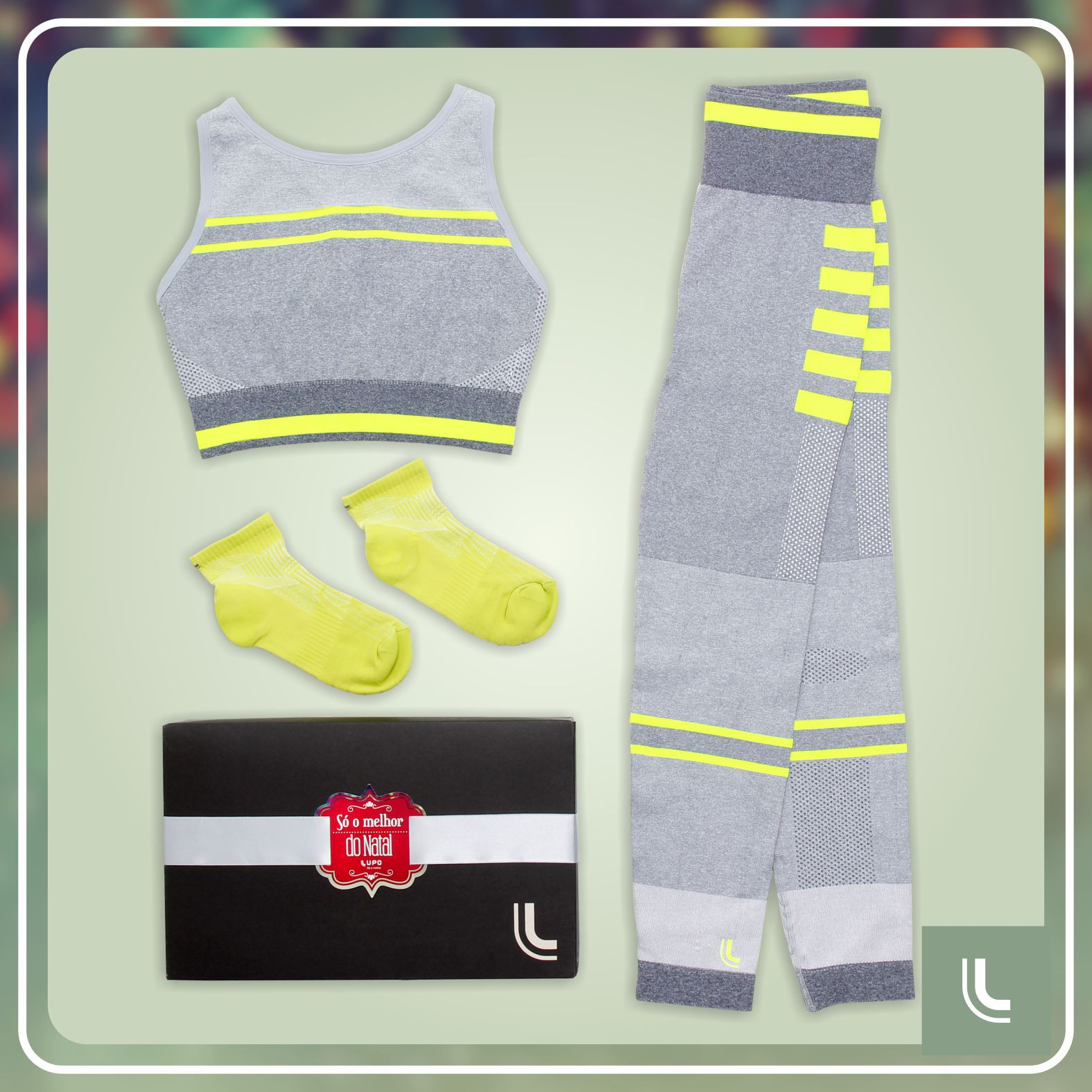 7912c5fb8 Presente perfeito para a amiga corredora  kit Lupo Sport. Corre para a loja  Lupo