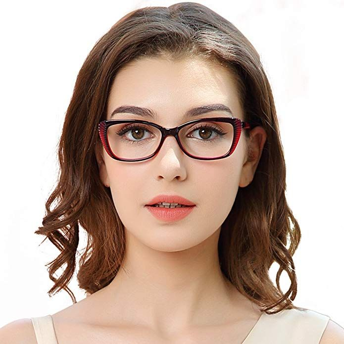 f4e0126d5e71 OCCI CHIARI Women Eyewear Frames Fashion Optical Acetate Eyeglasses with Clear  Lenses Review